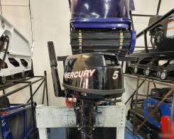 Mercury. 5,00л.с., 4-тактный, бензиновый, нога S (381 мм), 2010 год. Под заказ