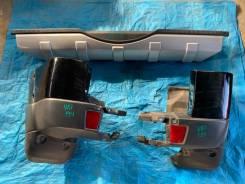 Бампер задний Mitsubishi Pajero V87 V83 V88