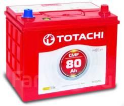 Totachi. 80А.ч., Обратная (левое), производство Корея. Под заказ