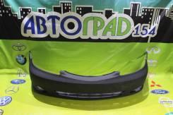 Бампер передний Toyota Camry 01-04 с отверстиями под туманки под крюк