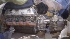 Двигатель с коробкой в сборе Газ-53