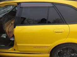 Дверь Mazda Familia S-Wagon, левая задняя BJ8W, FP