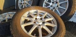 Фирменные 16-е диски WEDS Airnova на зиме 215/60R16 Dunlop. БП по РФ
