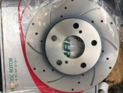 Диск тормозной перфорированный вентилируемый G-Brake