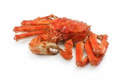 Морепродукты, краб, креветка, гребешок, осьминог, мидия, трубач