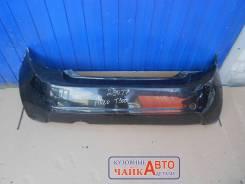 Бампер задний Chevrolet Aveo T300 Хетчбек