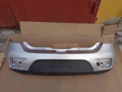 Renault Sandero Stepway бампер задний без отверстий под датчики б/у