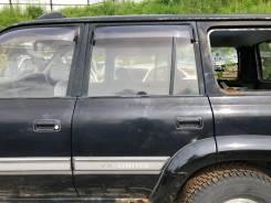 Дверь задняя левая черная(202) 2-модель Toyota LAND Cruiser HDJ81