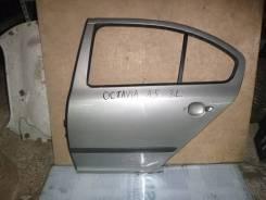 Дверь задняя левая для Skoda Octavia (A5 1Z-) 2004-2013