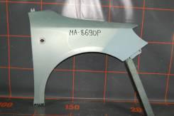 Крыло переднее правое - Skoda Fabia 2 (2007-14гг)