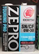 Idemitsu Zepro. 0W-30, синтетическое, 4,00л.