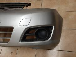 Бампер передний с решеткой nissa note 2008 Е11 рестайлинг