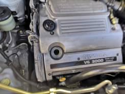 Двигатель c навесным Nissan VQ30DE видео проверки!