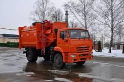 КамАЗ 53605. МК-4554-06 на шасси Камаз-53605-773950-48 Мусоровоз (маятник. плита). Под заказ