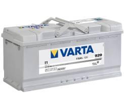 Varta. 110А.ч., Обратная (левое), производство Европа