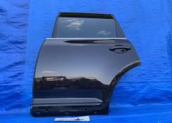 Дверь задняя левая черная Volkswagen Touareg