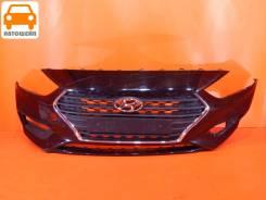 Бампер передний Hyundai Solaris 2 2017-2020 оригинал