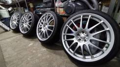 "Rays Volk Racing Progressiv ME + Pinso Tyres PS-91 225/35/19. 8.0x19"" 5x100.00 ET43"