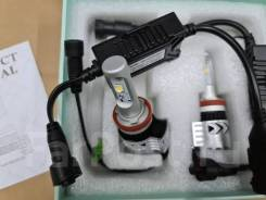 LED Светодиодные лампы H11 H9. 4000k