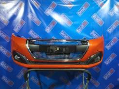 Бампер передний Peugeot 208 2012-2019