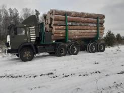 КамАЗ 5410. Подам лесовоз, 154куб. см., 15 125кг., 6x4