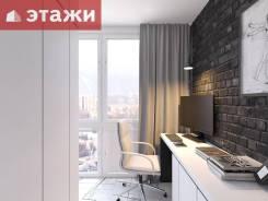 1-комнатная, улица Калинина 11а. Чуркин, агентство, 36,7кв.м. Интерьер