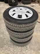 """Комплект колес Bridgestone Nextry Ecopia 165/70R14 Toyota Vitz. 5.5x14"""" 4x100.00 ET39 ЦО 54,1мм."""