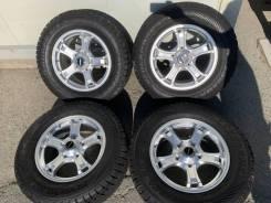 285/60R18 Зима литьё Weds Land 200 Lexus 570 450d