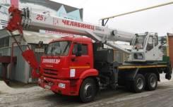 Челябинец КС-55732-28. Автокран 25 тонн КС-55732 -28 «Челябинец» в Хабаровске, 11 762куб. см., 31,10м.