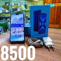 Honor 8X. Б/у, 64 Гб, Синий, 3G, 4G LTE, Защищенный, NFC