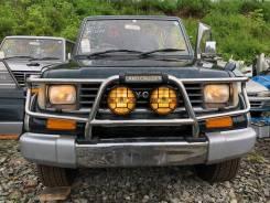 Бампер перед в сборе+дуга+туманки LAND Cruiser Prado KZJ78 181000km