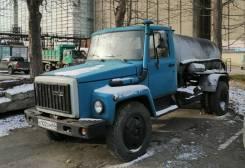 ГАЗ. Продается 34301 Цистерна Илосос КО-503, 4 250куб. см., 5 000кг., 4x4