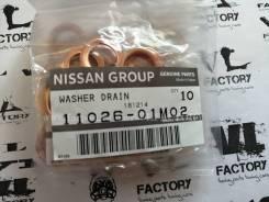 Прокладка сливной пробки Nissan 11026-01M02 1102601M01 11026-01M02