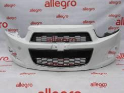 Chevrolet Aveo Т300 бампер передний 2011+