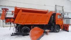 КамАЗ 65115. Комбинированная дорожная машина(КДМ) на шасси Камаз 65115. Под заказ