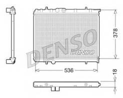 Радиатор системы охлаждения Denso DRM21034