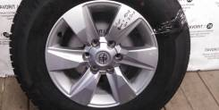 Литой оригинальный диск Toyota на шине 265/65R17 Michelin