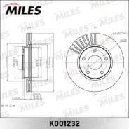 Диск тормозной Miles Nissan JUKE 10- передний K001232