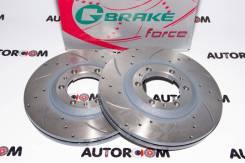 Диски тормозные перфорированные G-brake GFR-02230 (Передние)