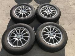 195/65 R15 Bridgestone VRX литые диски 5х100 (K26-1506)