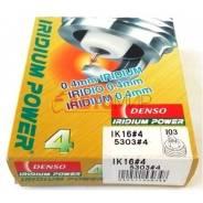 Комплект 4шт иридиевых свечей Denso ik16 iridium power замена/доставка