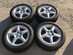 205/55 R16 Bridgestone VRX литые диски 5х112 (K26-1604)