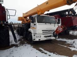 Камышин КС-65740-5. Кран автомобильный 40 тонн, КС-65740-5, 2018г. в., 6 700куб. см., 30,30м.