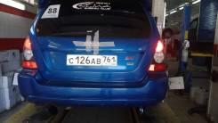 Бампер задний XT Subaru Forester 2007 SG5-9 EJ205