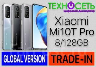 Xiaomi Mi 10T Pro. Новый, 128 Гб, Белый, Черный, 3G, 4G LTE, Dual-SIM, NFC