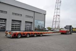 Faymonville. Трал г/п 53 тонны, раздвижной MaxTrailer, 12.2019 год, 53 000кг.