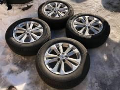 """Комплект колёс Nissan. 7.0x17"""" 5x114.30 ET45 ЦО 66,1мм."""