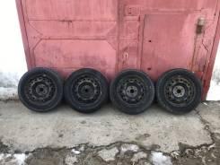 Колеса зима штамповки 4x100 Dunlop 185-65-15