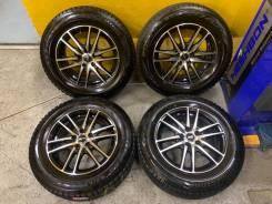 Все как новое 195/65R15 Зима чёрная Полировка 5/100 6j 43 Allion Prius