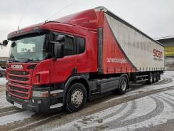 Scania P440LA. Продам грузовик Scania P440 с п-прицепом Schmitz Cargobull-S01, 13 000куб. см., 19 000кг., 4x2